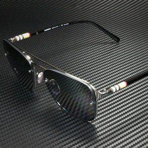 Burberry Gunmetal 56mm Sunglasses! NIB!